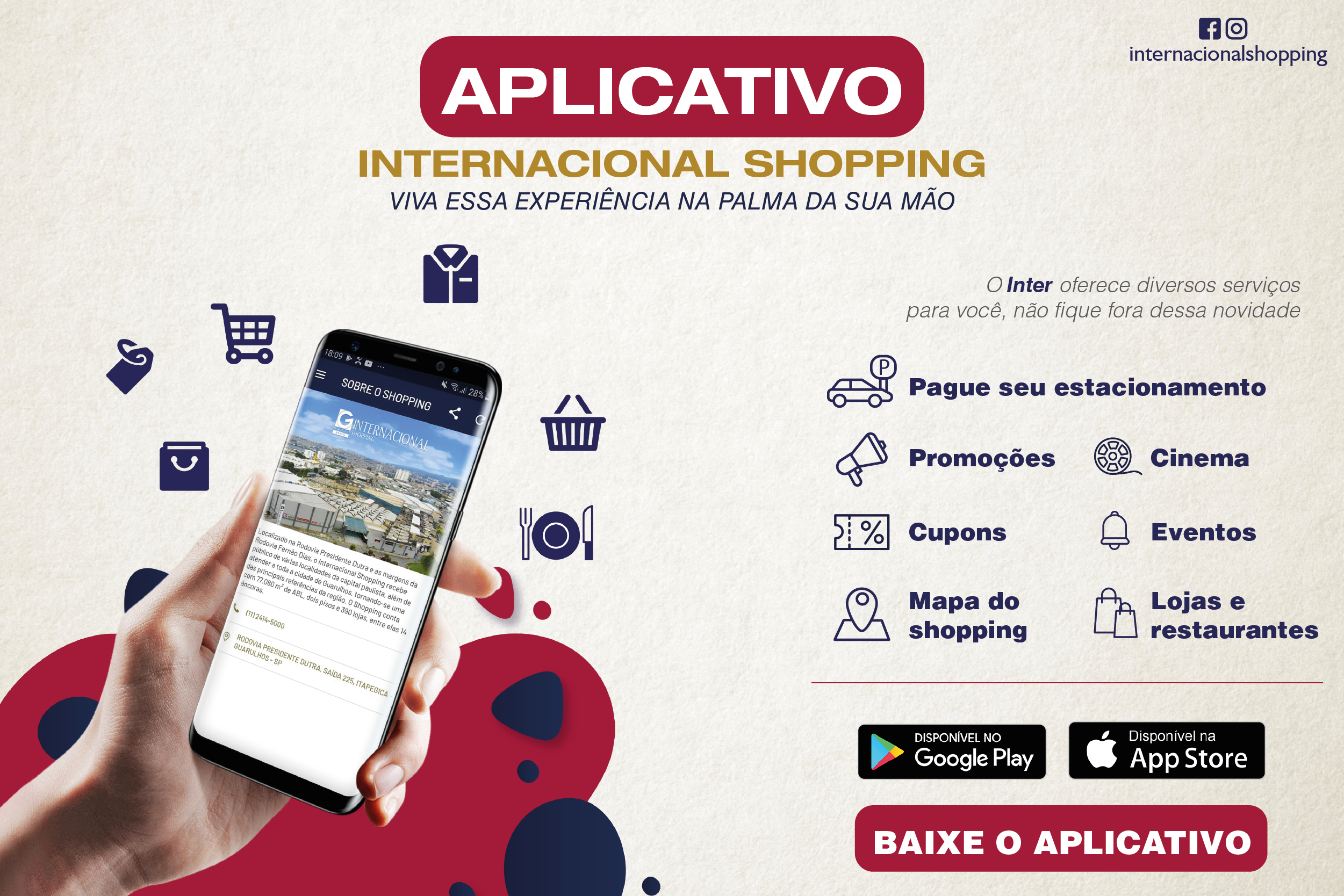 Aplicativo Internacional Shopping