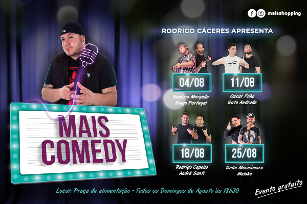 STAND UP - MAIS COMEDY