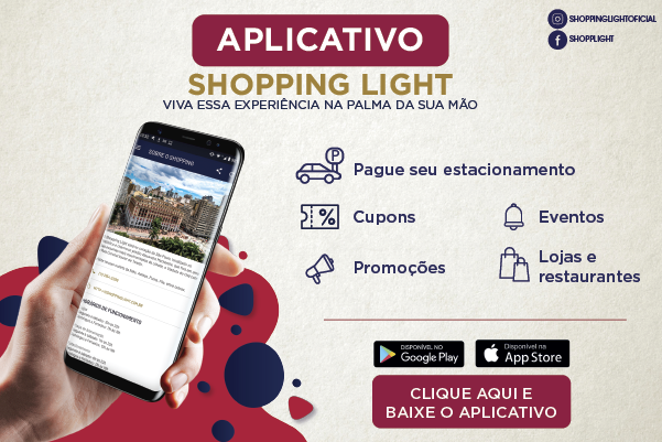 App do Shopping Light