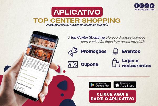 Aplicativo Top Center Shopping