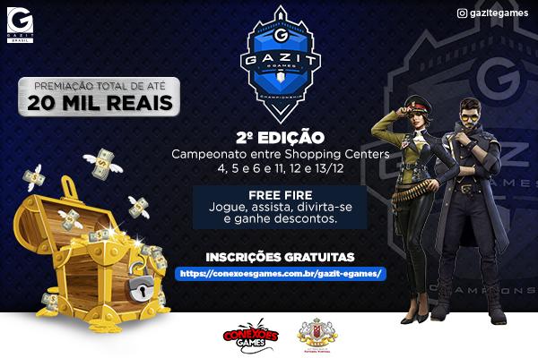 Campeonato Gazit E-Game | 2ª Edição