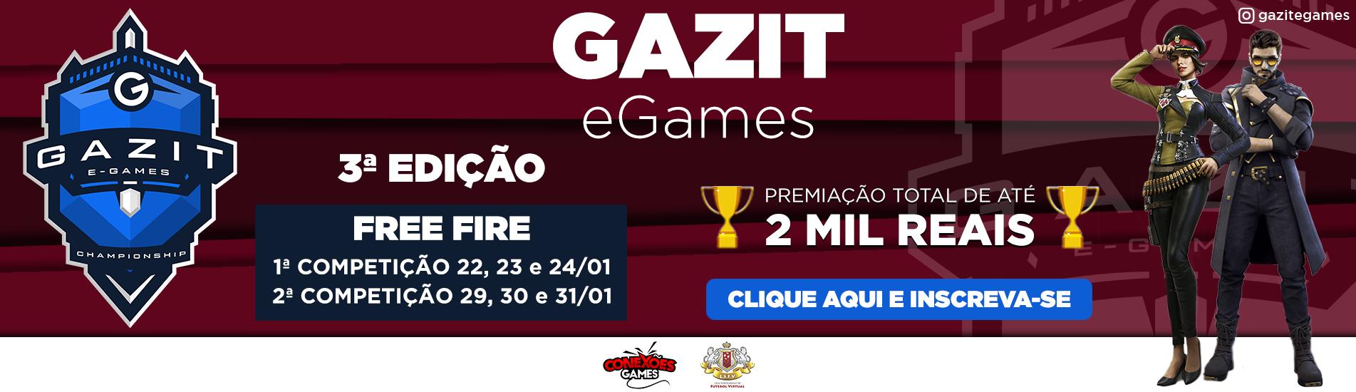 Gazit e-Games | 3ª Edição