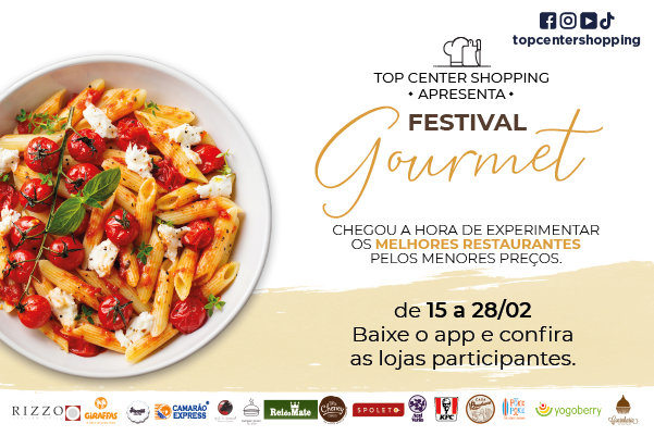 Festival Gastronômico Top Center