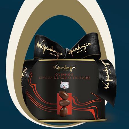 Kopenhegen - Mini Ovos Lingua de Gato Trufado 250g - R$ 74,90