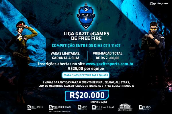 Liga Gazit eGames de Free Fire II