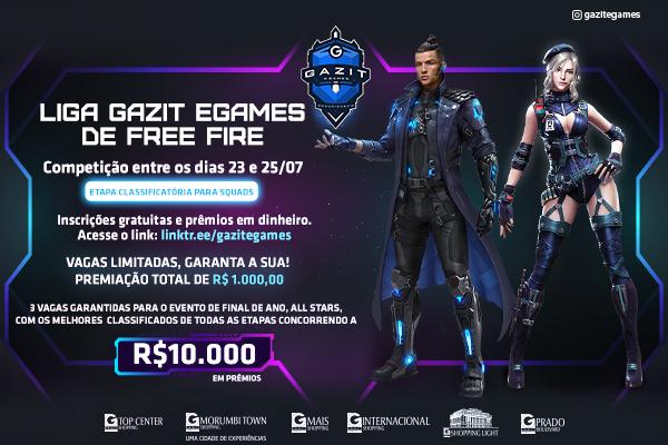 Liga Gazit eGames de Free Fire III
