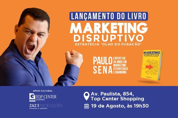 Lançamento do livro Marketing Disruptivo