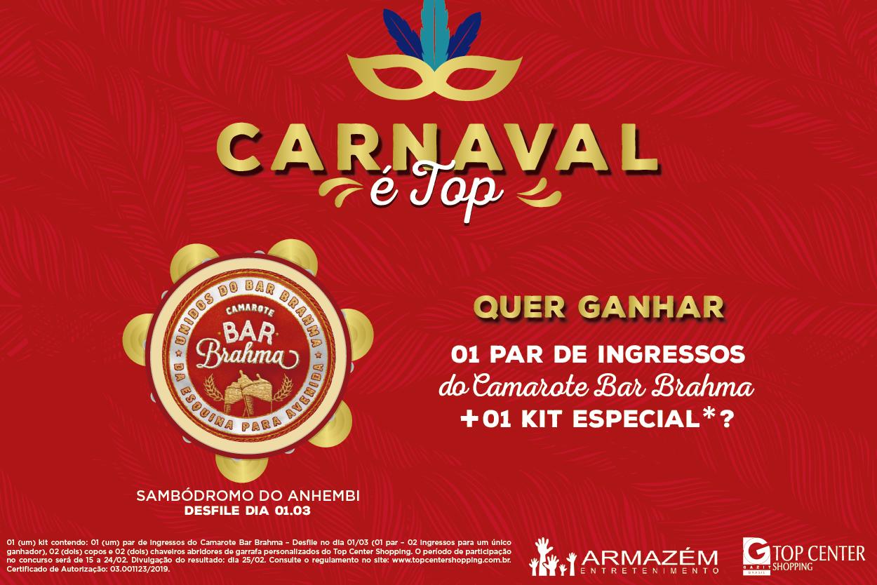 Promoção - Carnaval é Top