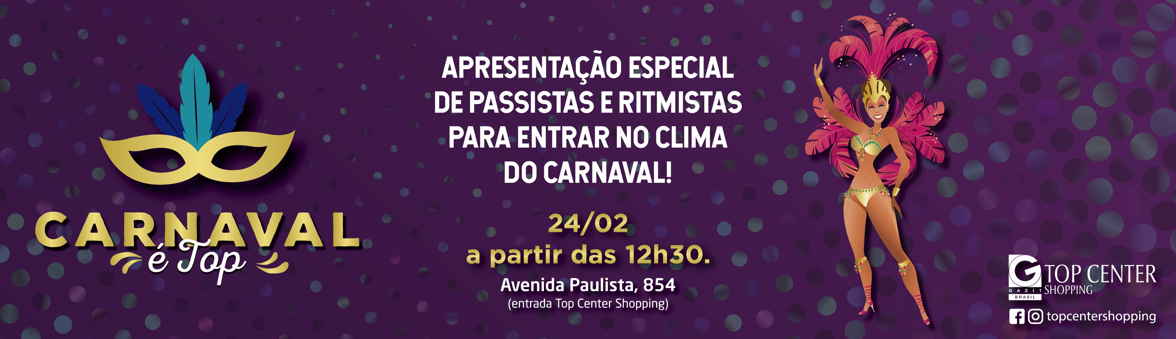 Carnaval é Top!