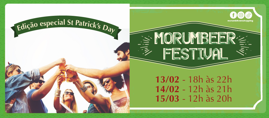 Morumbeer Festival St Patrick´s Day