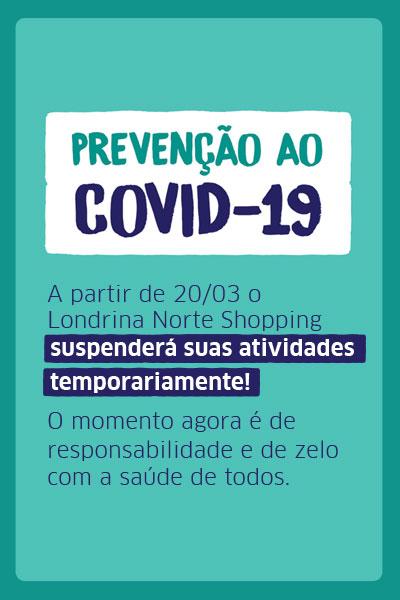 SUSPENSÃO TEMPORÁRIO FUNCIONAMENTO DO SHOPPING