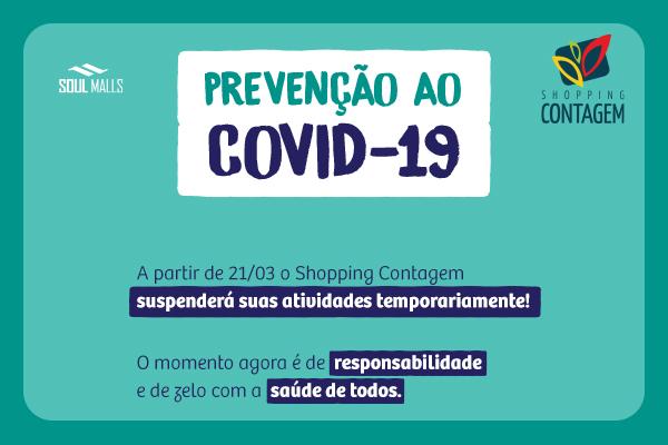 Coronavírus - Comunicado de fechamento