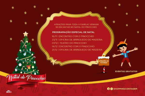 Programação  de Natal 2019