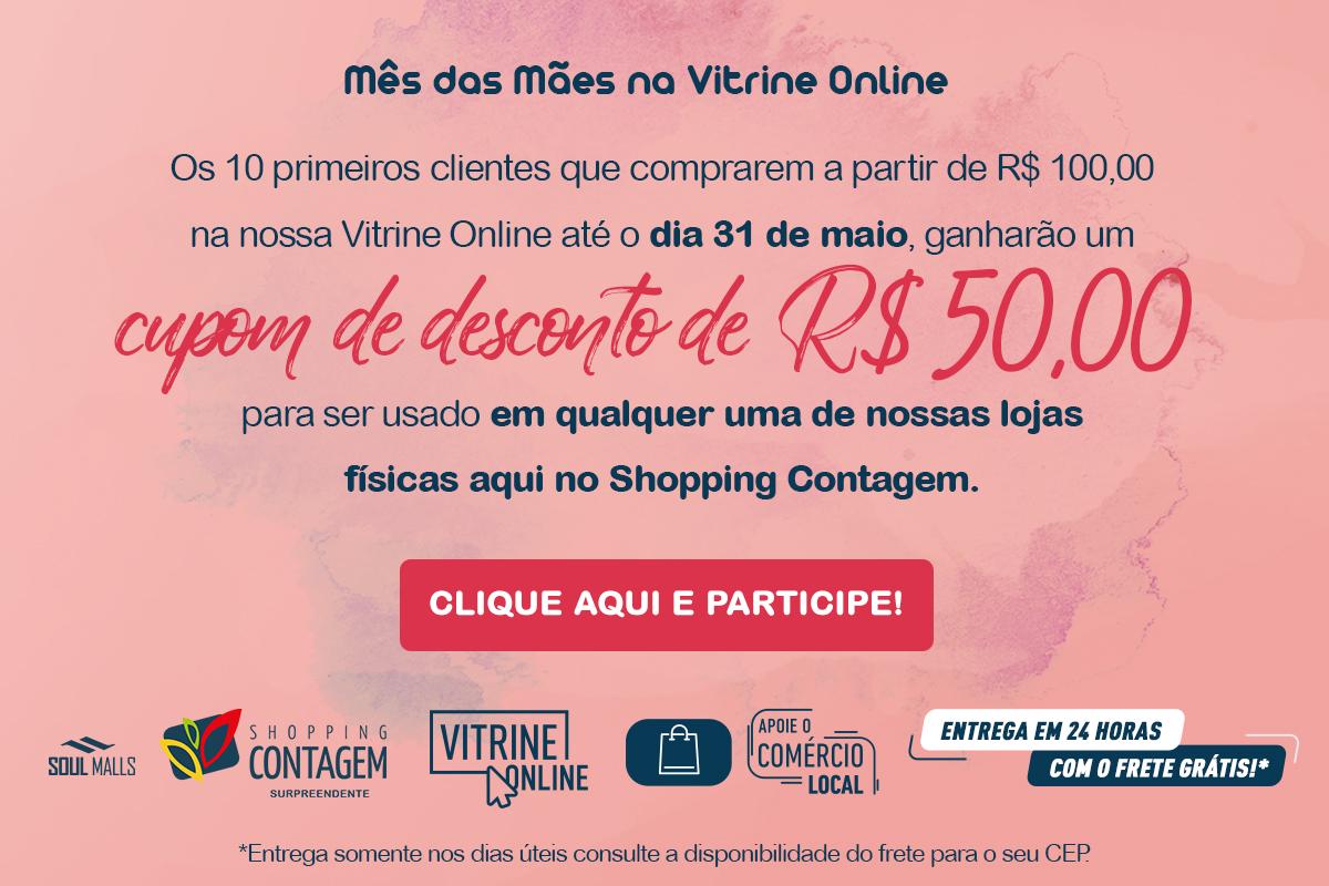 Mês das Mães na Vitrine Online