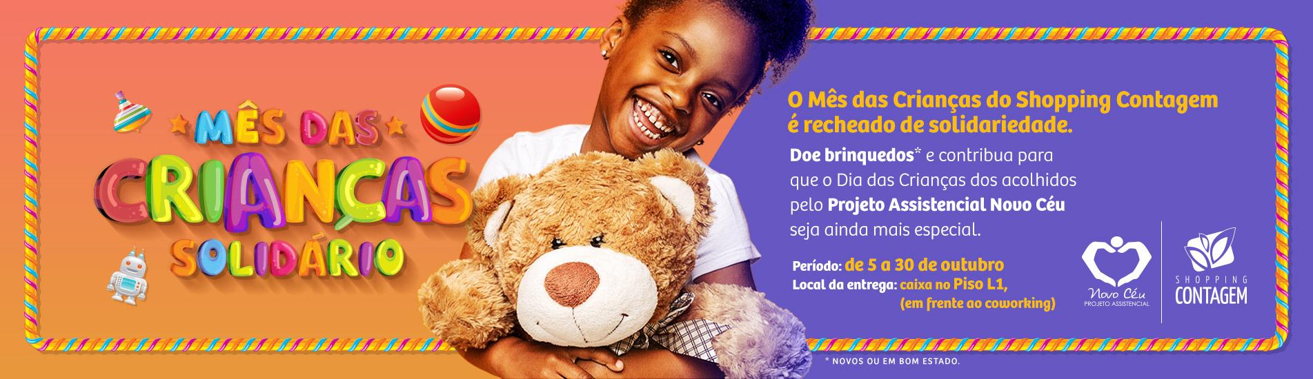 Banner Mês das Crianças