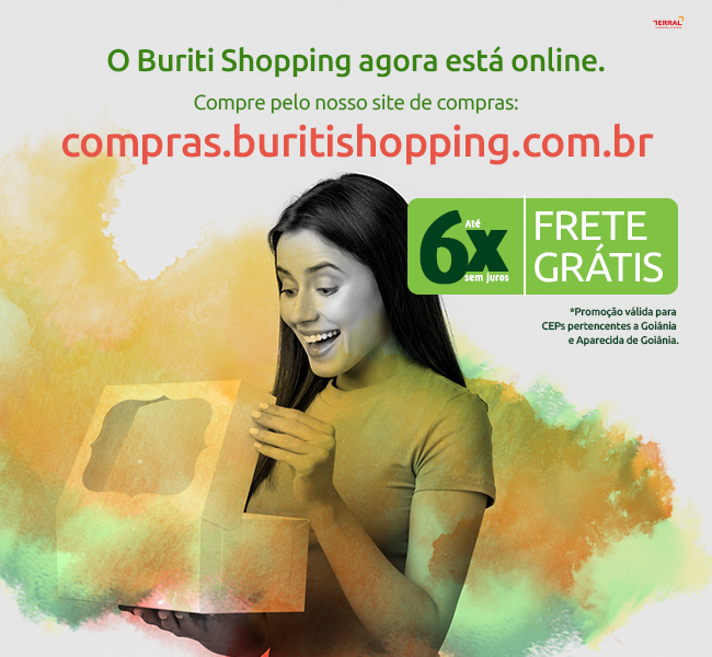 O Buriti Shopping agora está online!
