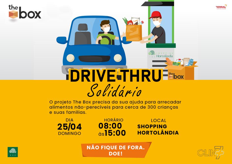 Drive-Thru Solidário Shopping Hortolândia