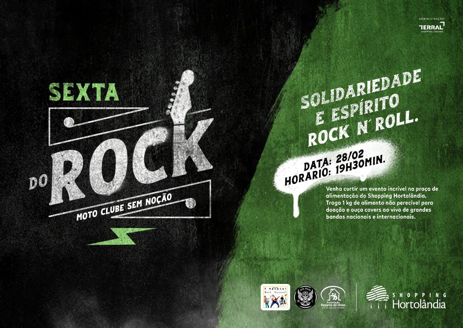 Sexta do ROCK!!!