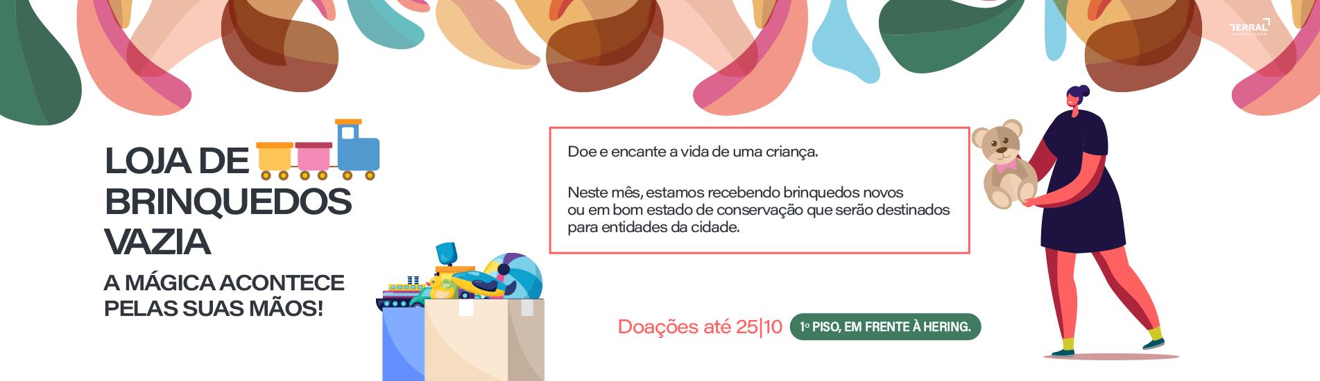 LOJA VAZIA DE BRINQUEDOS