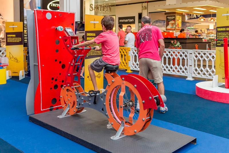 Bicicleta Geradora