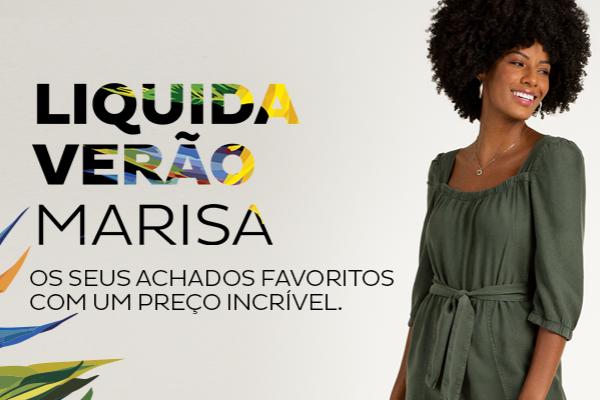 Liquida Verão Marisa: descontos imperdiveis