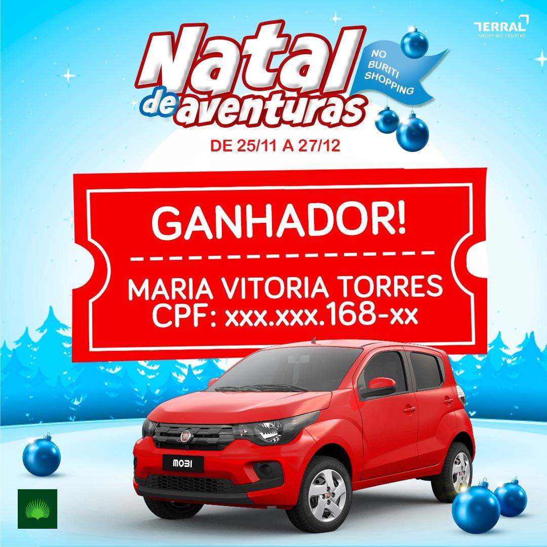NATAL DE AVENTURAS - CONFIRA OS GANHADORES
