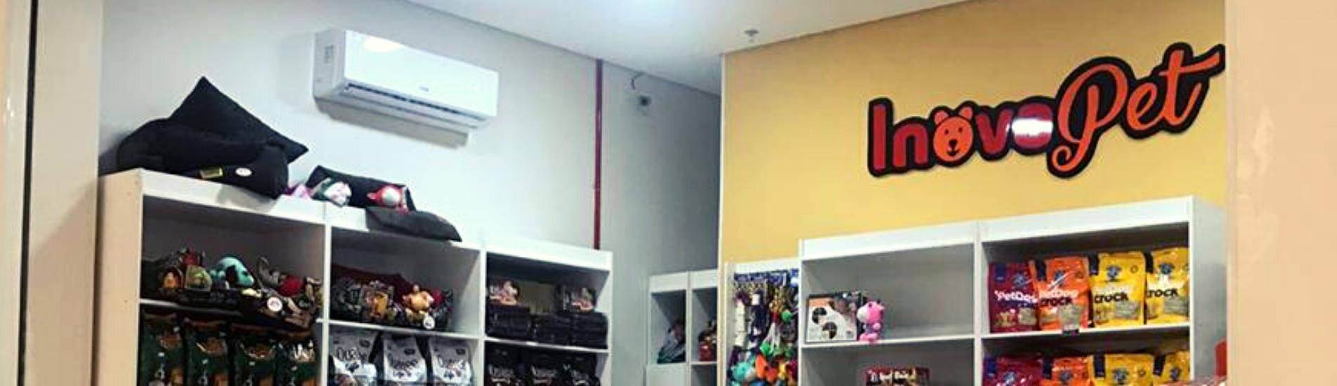 Inauguração da loja Inova Pet