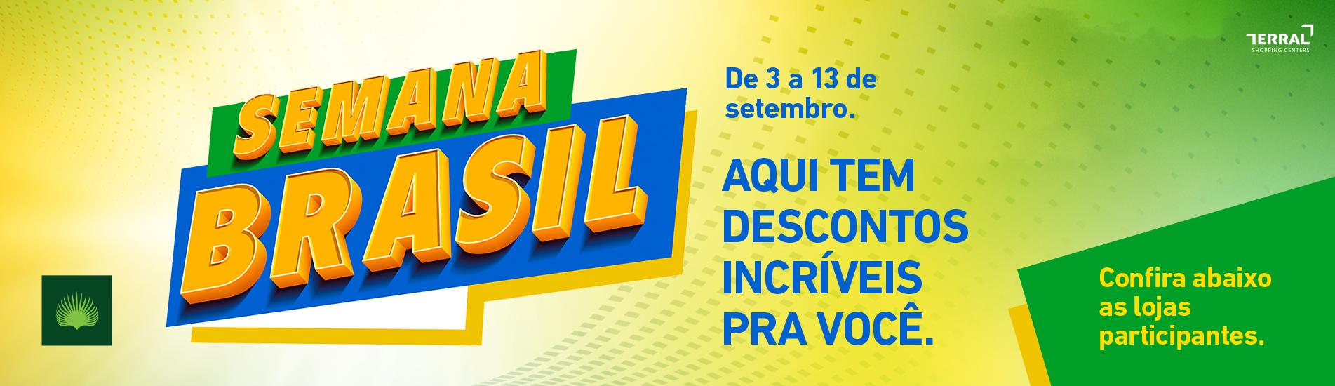 Semana Brasil - Lojas Participantes