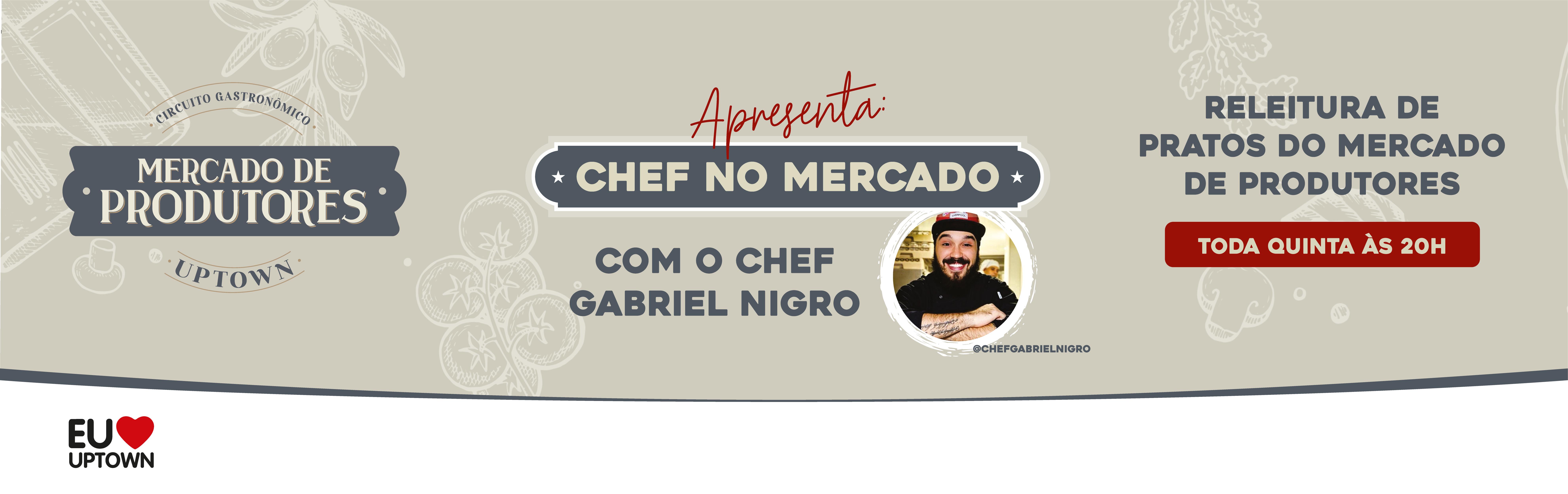 Chef no Mercado